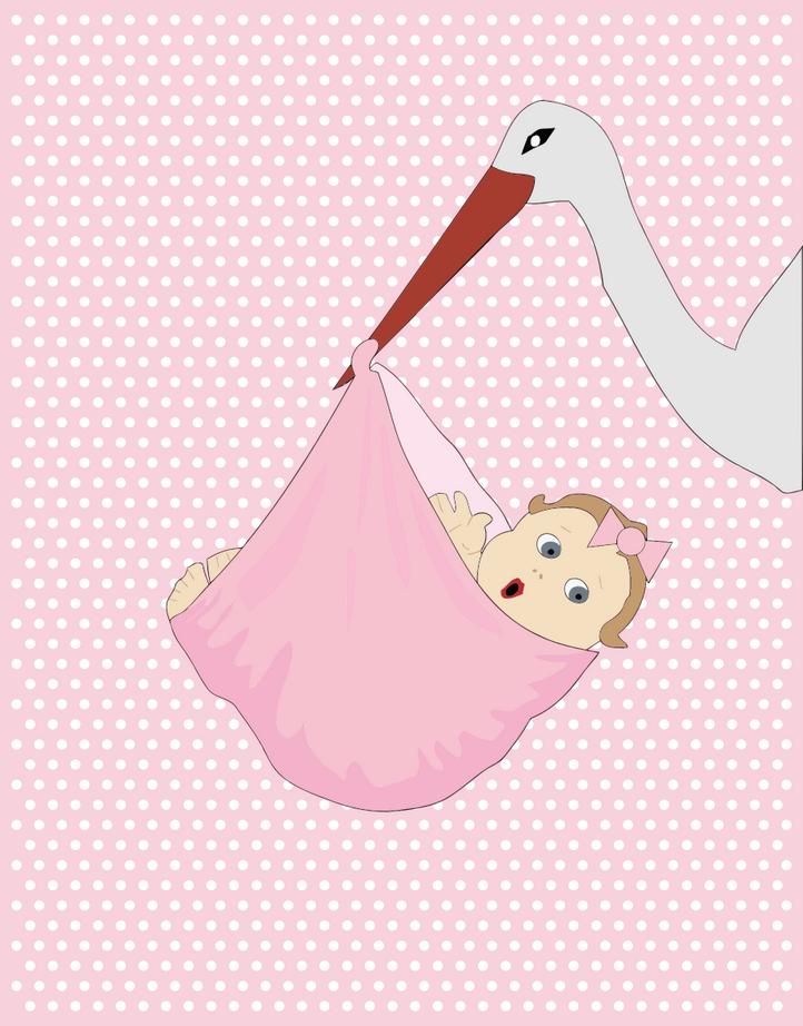 Přání k narození dítěte, přáníčka ke stažení - dítě přáníčko