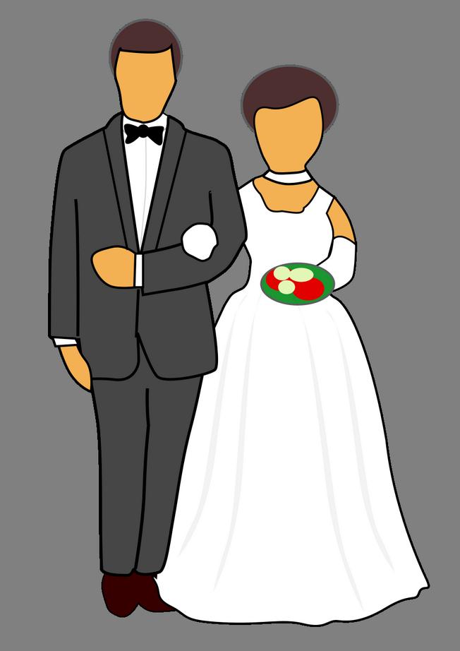 Přání pro novomanžele, gratulace, blahopřání, přáníčka - Blahopřání k svatbě novomanželům